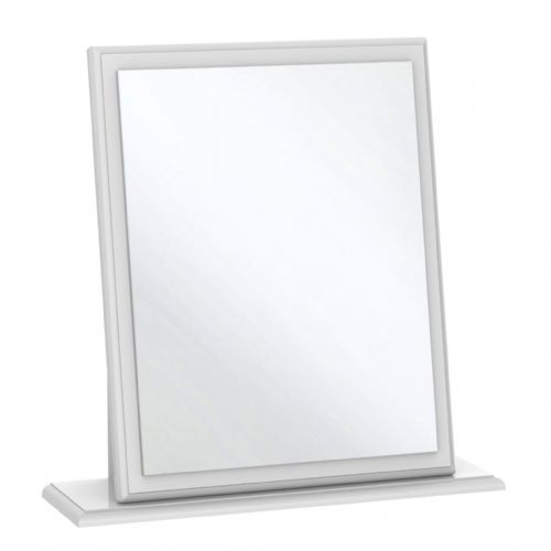 Balmoral White Gloss Small Mirror